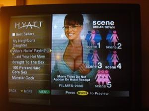 Hotel TV entertainment