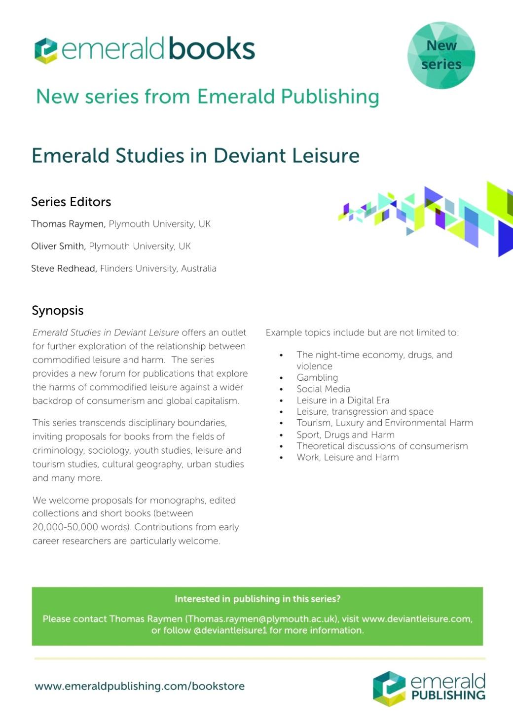 Emerald Studies in Deviant Leisure.jpg